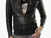 Biker Jacket in PU Leather
