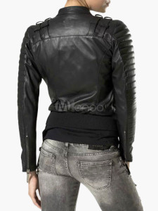Biker Jacket in PU Leather 2