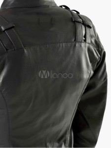 Biker Jacket in PU Leather 3